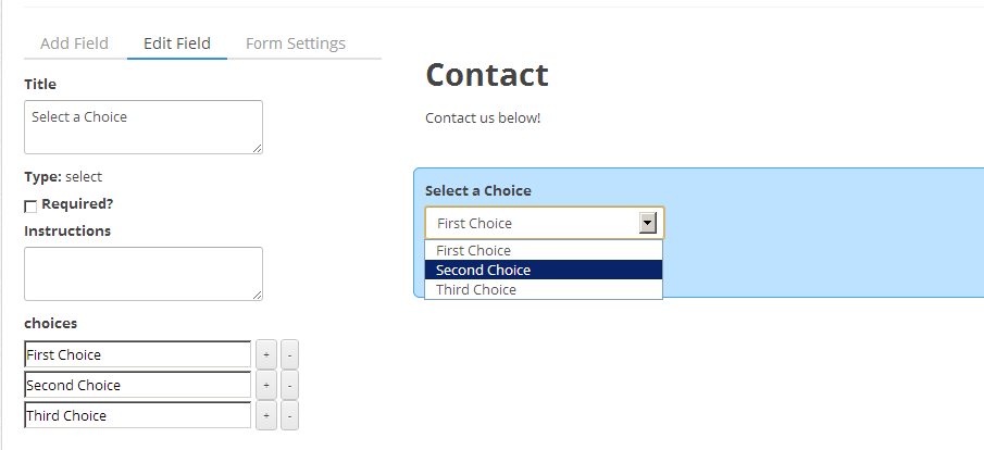 contact-form-by-contactmetrics screenshot 2