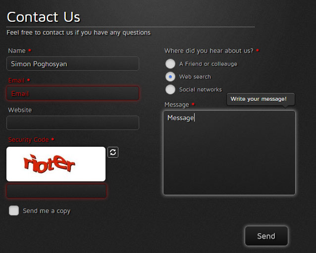 contact-form-generator screenshot 2
