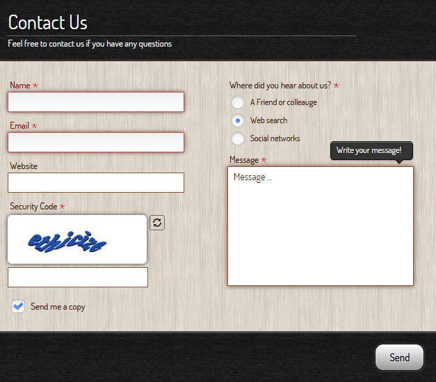 contact-form-generator screenshot 3