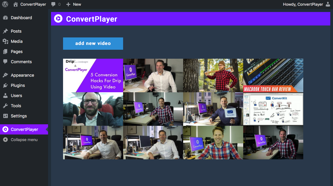 convertplayer-video-lead-capture-player-for-youtube-vimeo screenshot 1
