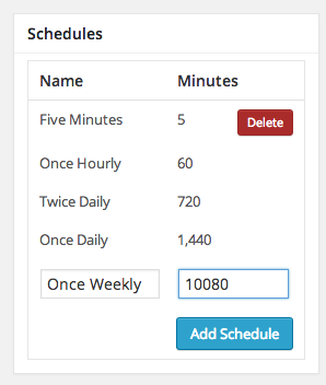 cronjob-scheduler screenshot 2