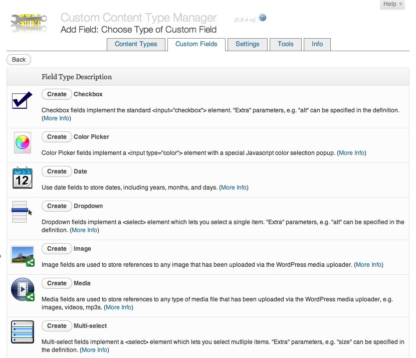 custom-content-type-manager screenshot 4