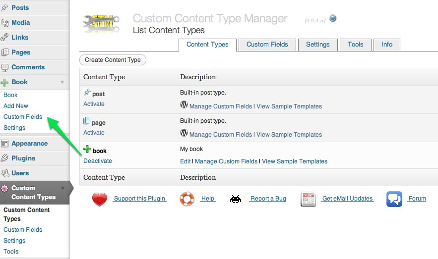 custom-content-type-manager screenshot 5