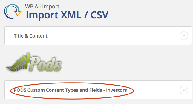 custom-fields-csv-xml-importer screenshot 2