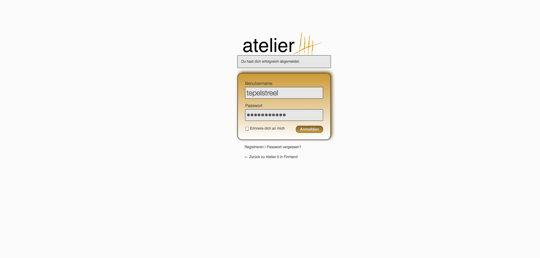 custom-login-page screenshot 2