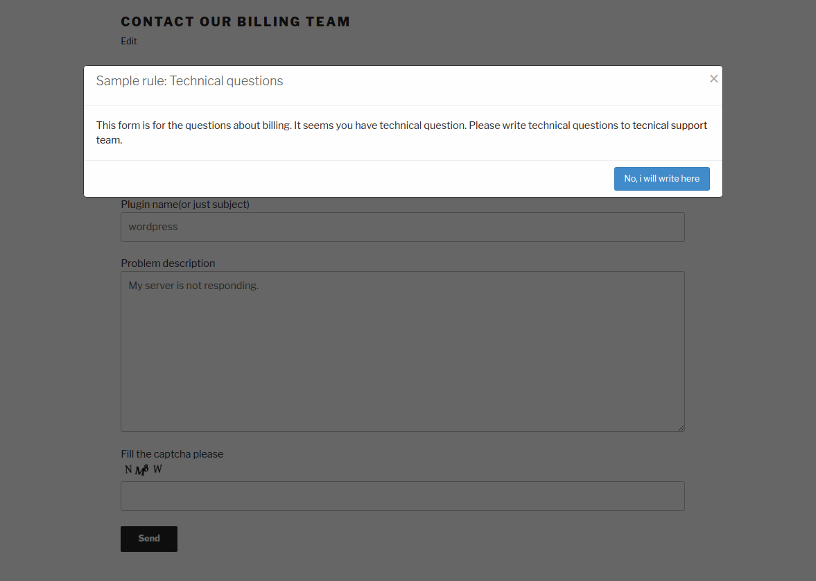custom-rules-for-contact-form-7 screenshot 1
