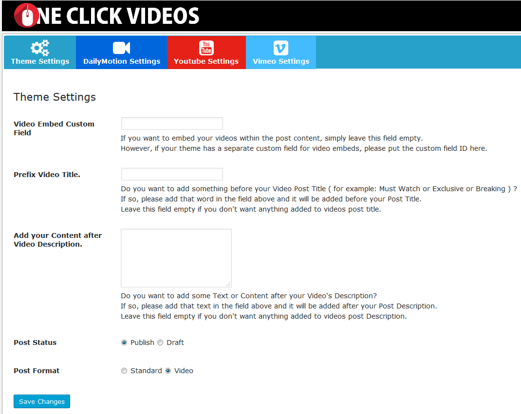 dailymotion-search-and-publish-videos screenshot 1