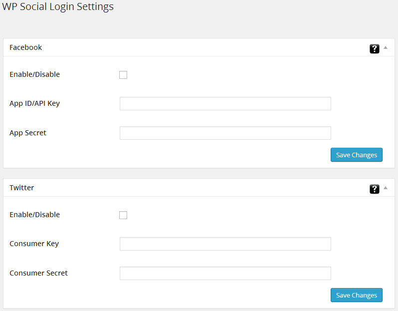 de-social-login screenshot 1