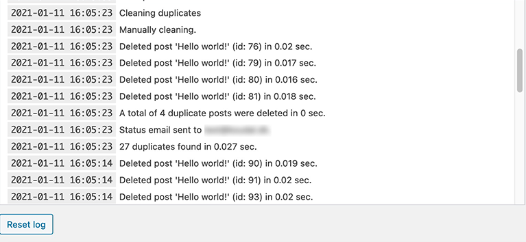 delete-duplicate-posts screenshot 2