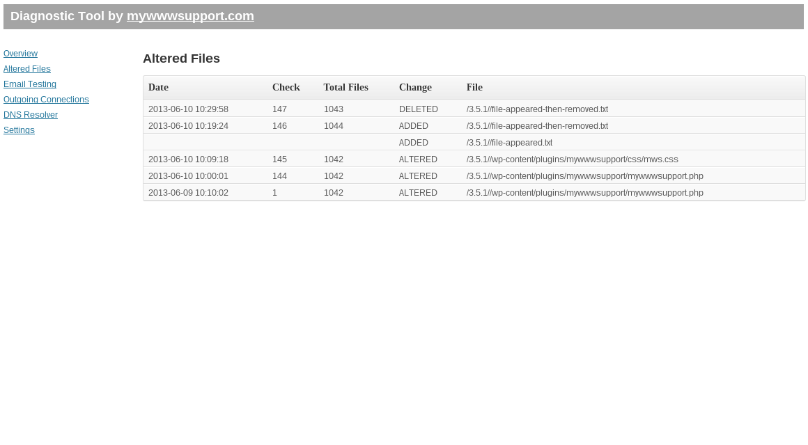 diagnostic-tool screenshot 2