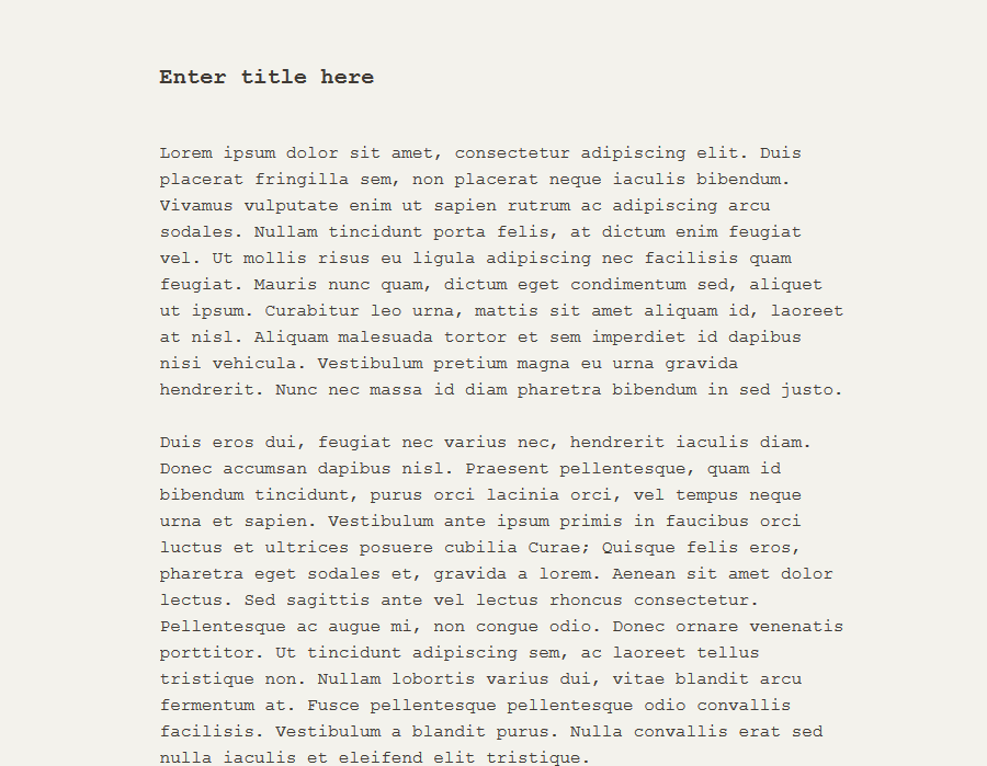 distraction-free-writing-mode-themes screenshot 9