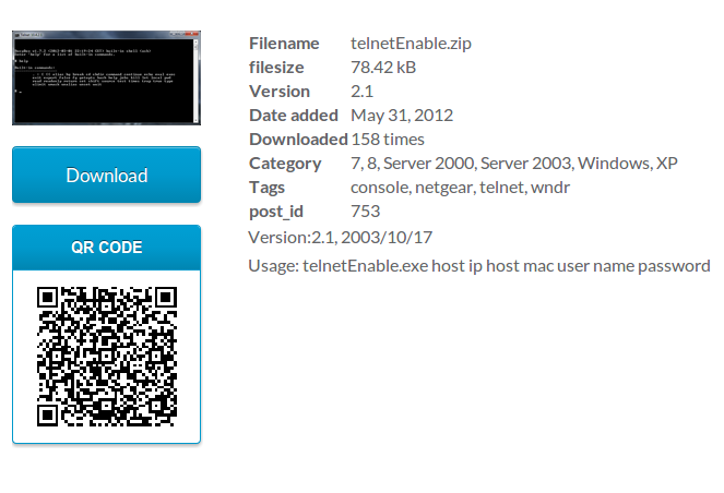 download-monitor-page-addon-qr-code screenshot 1