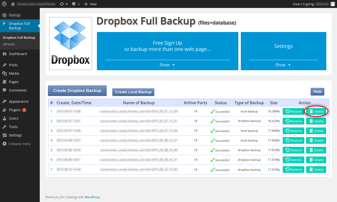 dropbox-backup screenshot 10