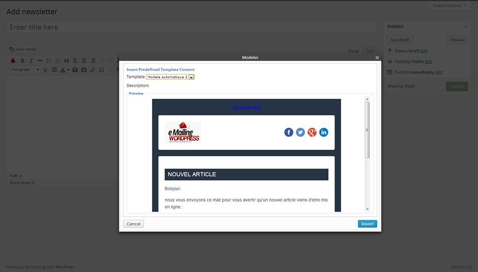 e-mailing-service screenshot 3