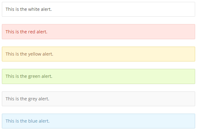 easy-alert-shortcode screenshot 1