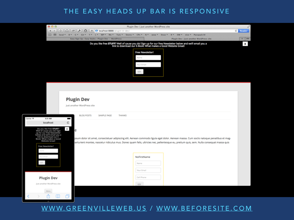 easy-heads-up-bar screenshot 4