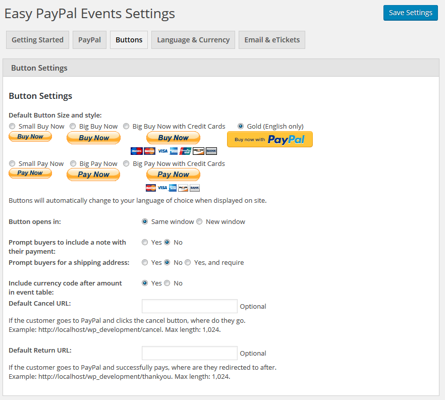easy-paypal-events-tickets screenshot 3