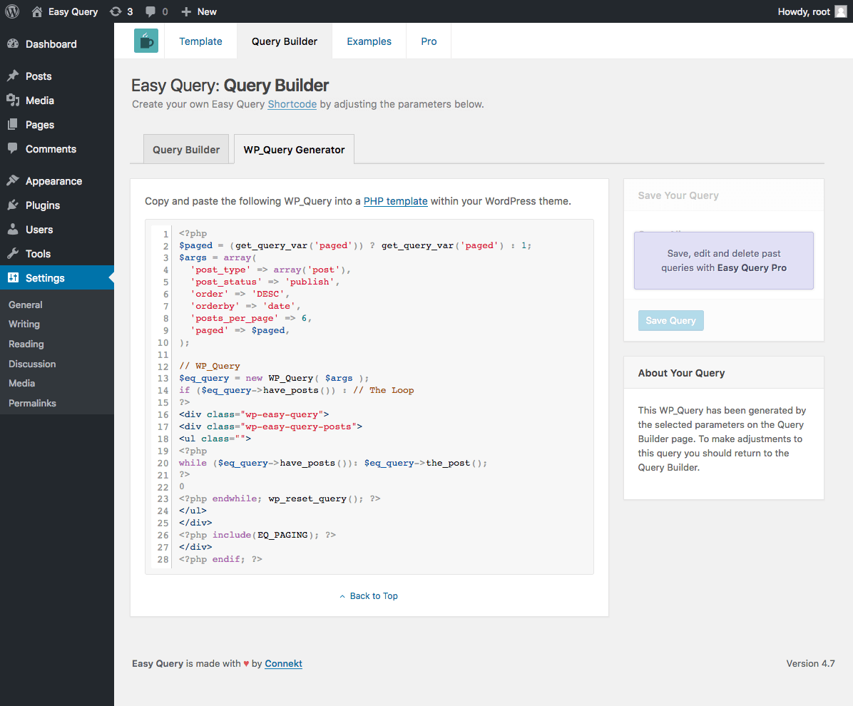 easy-query screenshot 4