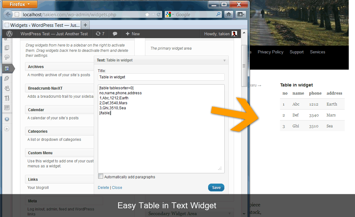 easy-table screenshot 4