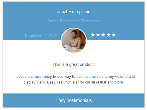 easy-testimonials screenshot 7