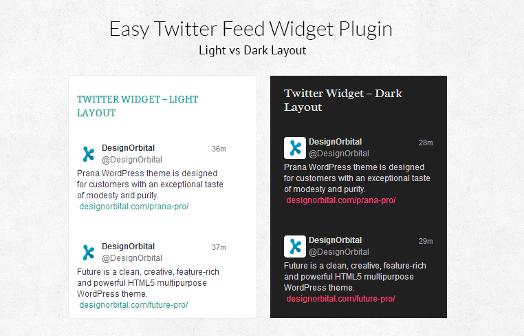 easy-twitter-feed-widget screenshot 4