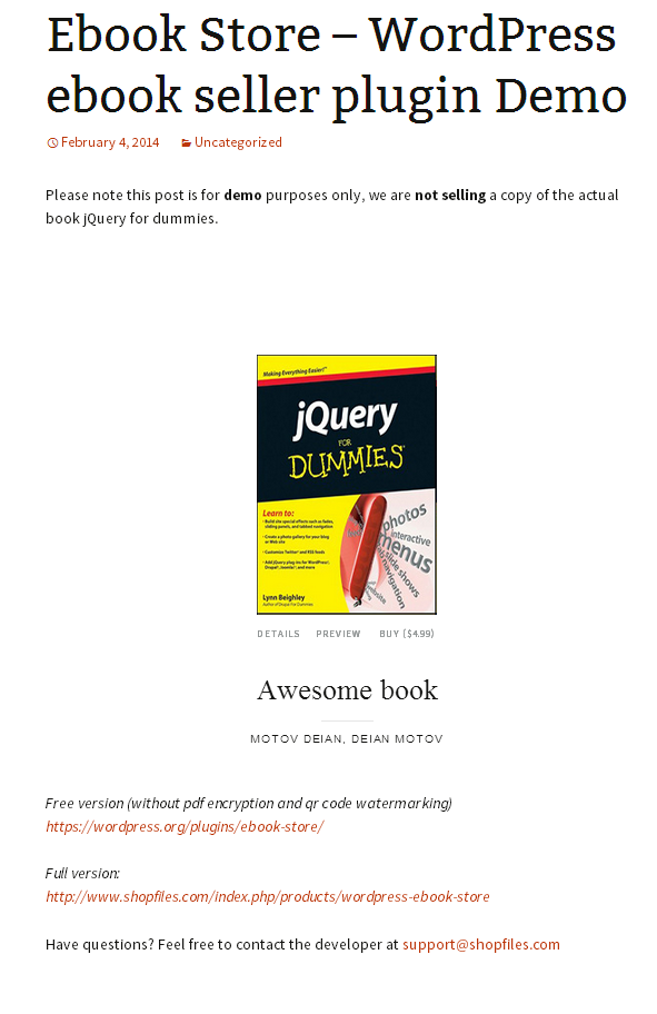 ebook-store screenshot 1