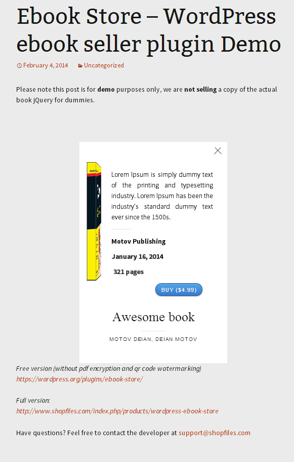 ebook-store screenshot 2