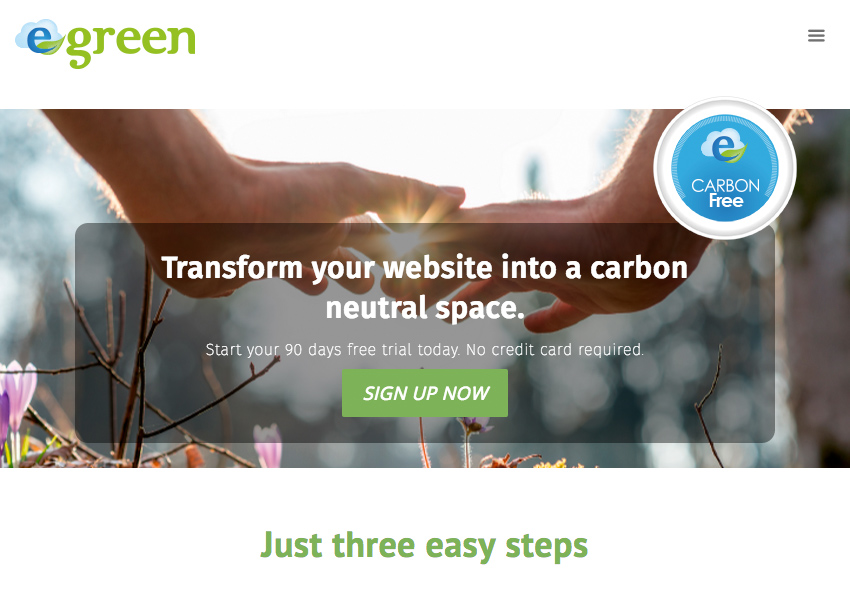 egreen-web-meter screenshot 2