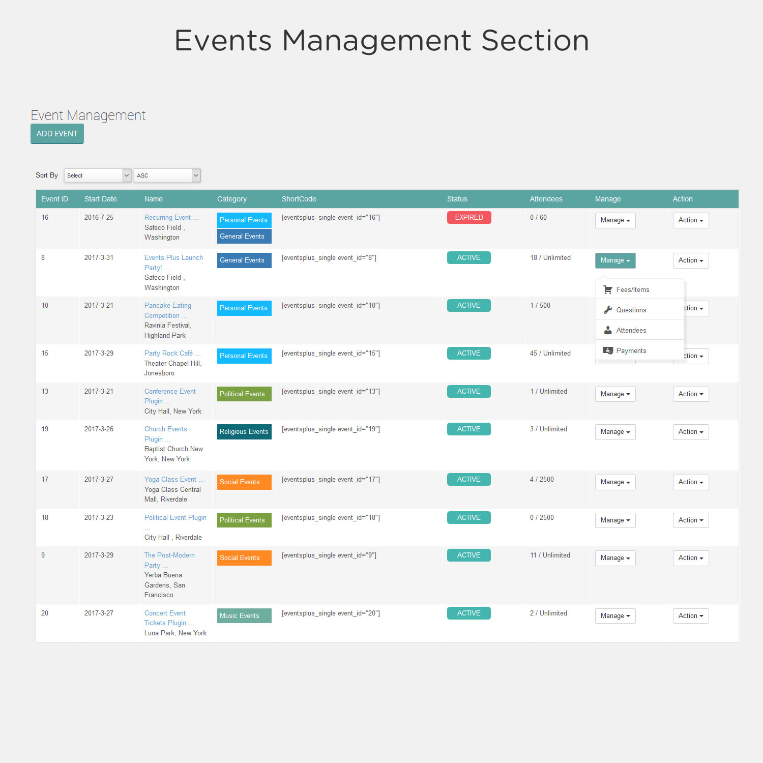 events-calendar-registration-booking-by-events-plus screenshot 9
