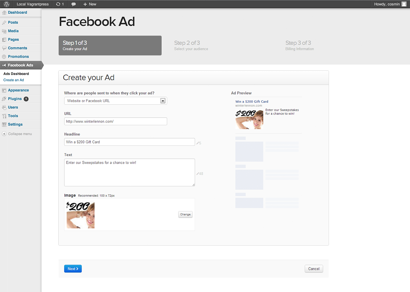 facebook-ads screenshot 1