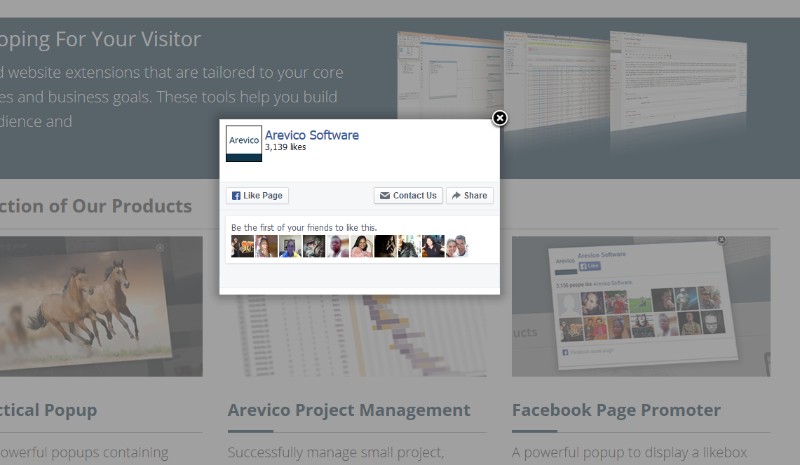facebook-page-promoter-lightbox screenshot 1