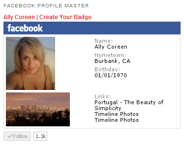 facebook-profile-master screenshot 1