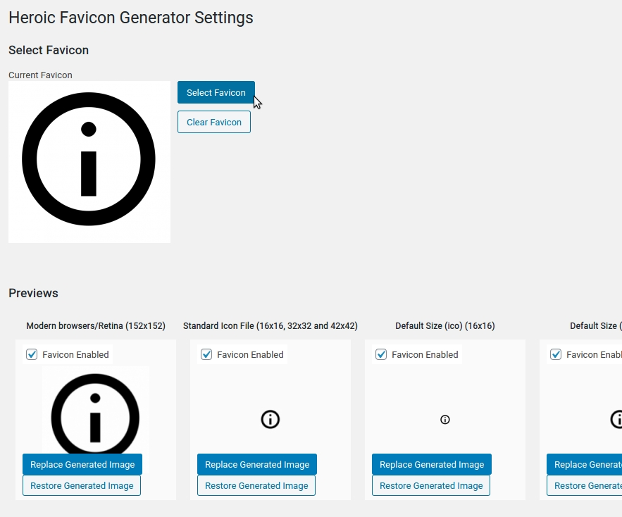 favhero-favicon-generator screenshot 1