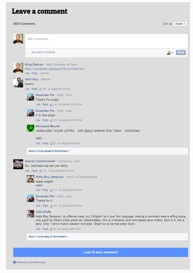 fb-comment-box screenshot 1