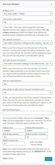 fc-auto-loan-calculator screenshot 4