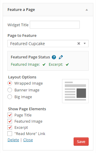 feature-a-page-widget screenshot 2