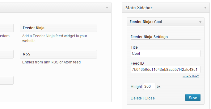 feeder-ninja-feed screenshot 1