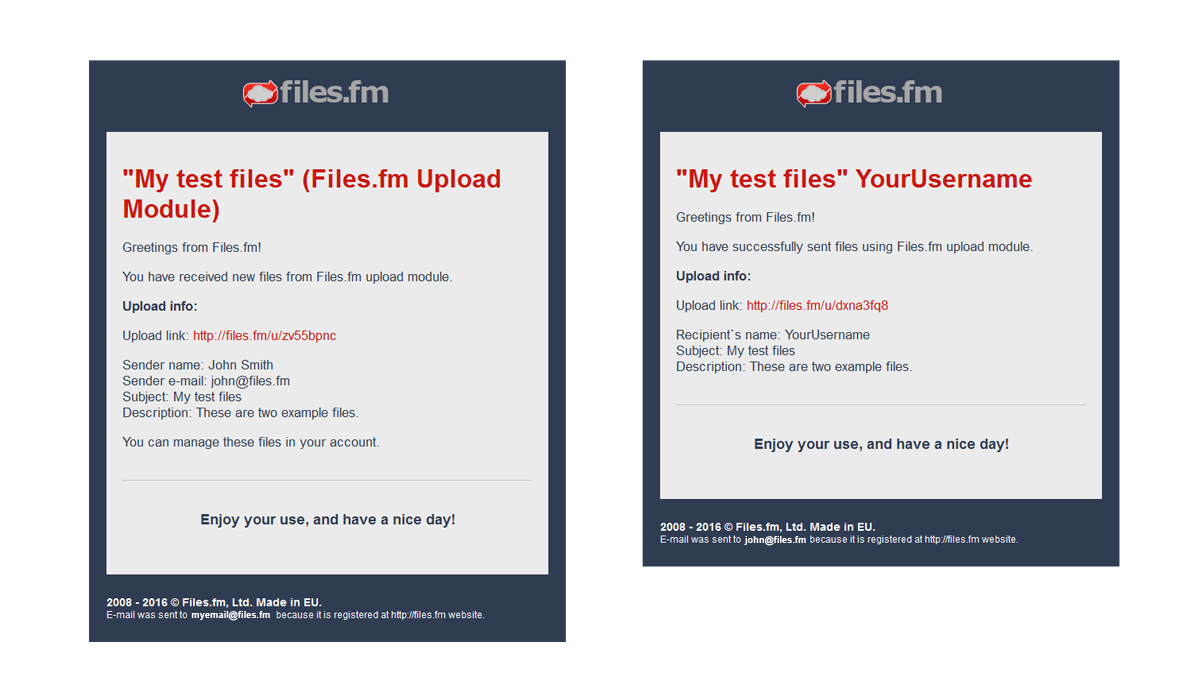 filesfm-file-upload-form screenshot 6