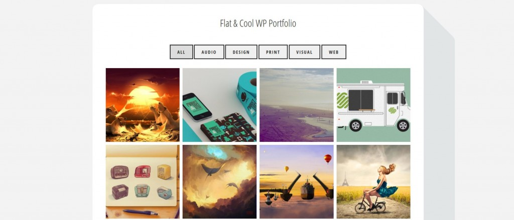 flatfolio-flat-cool-wp-portfolio screenshot 3