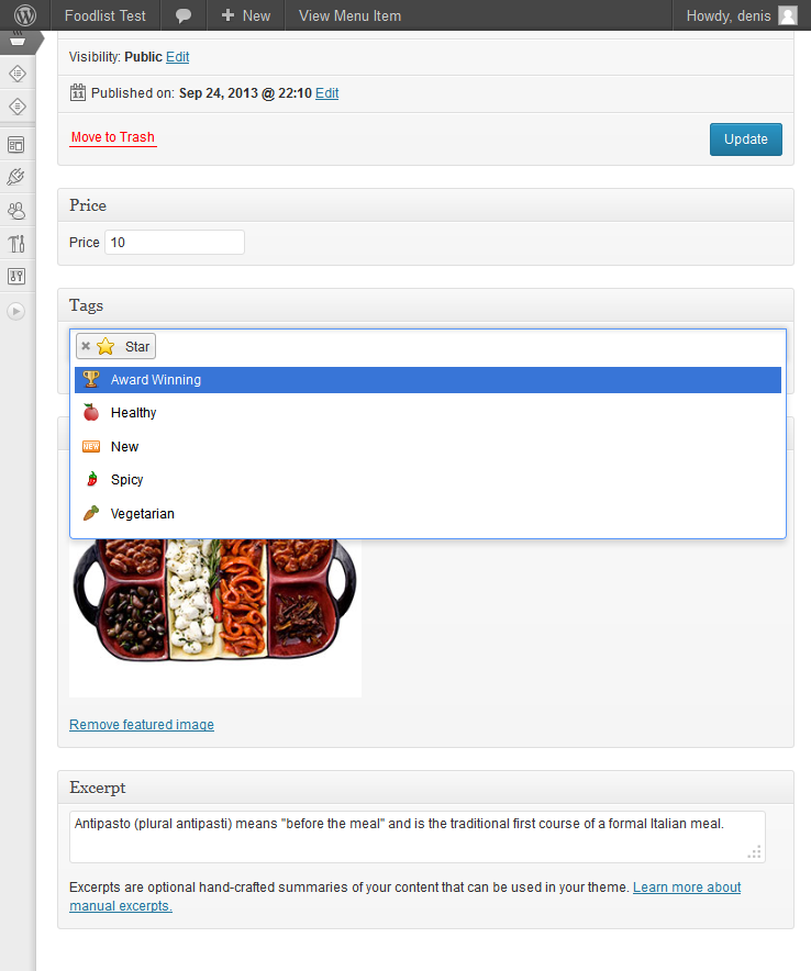 foodlist screenshot 5