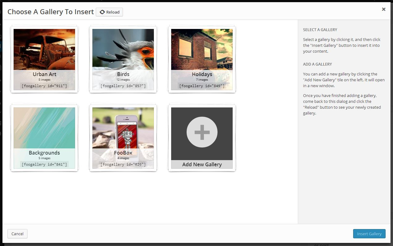 foogallery screenshot 3