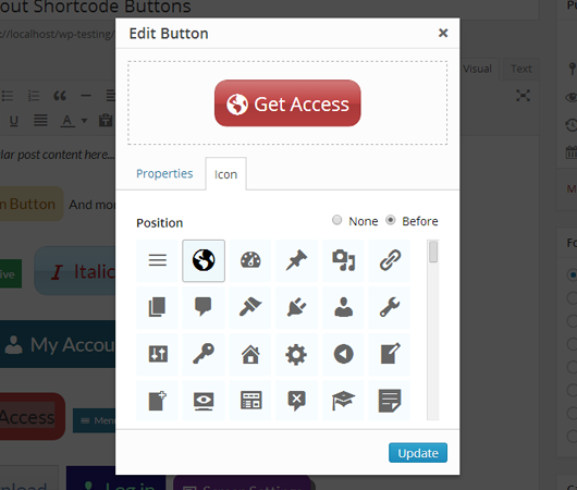 forget-about-shortcode-buttons screenshot 3