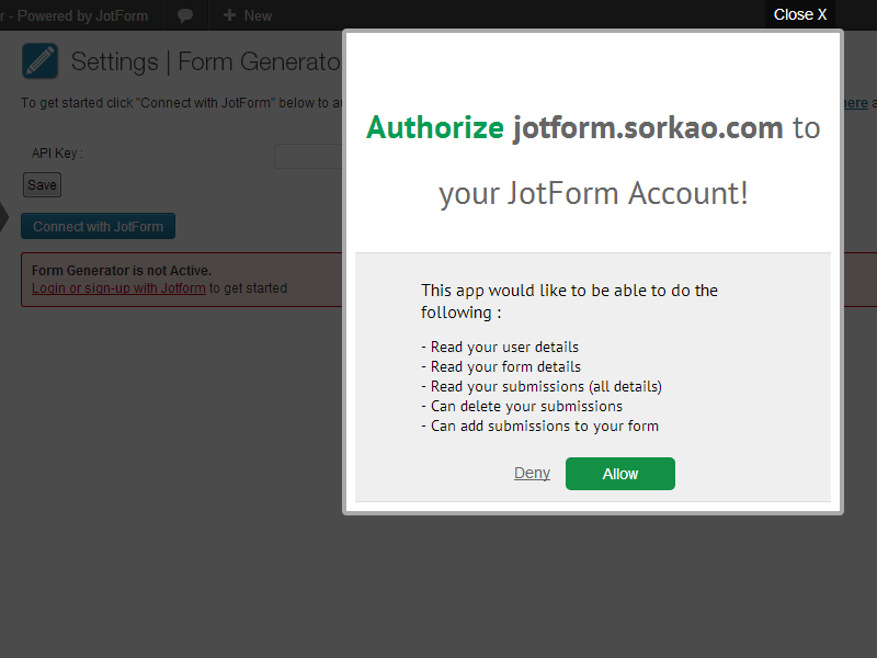 form-generator-powered-by-jotform screenshot 3