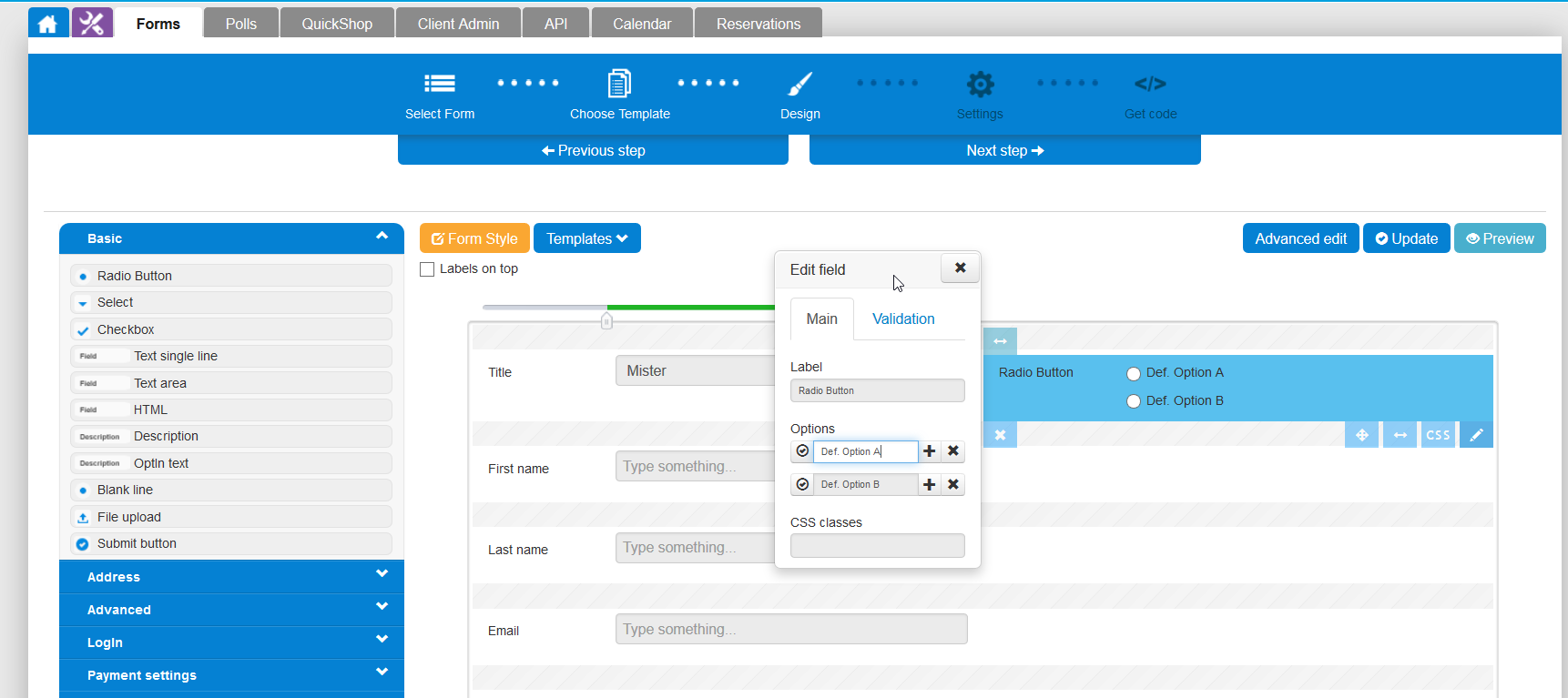 free-forms-and-crm screenshot 3