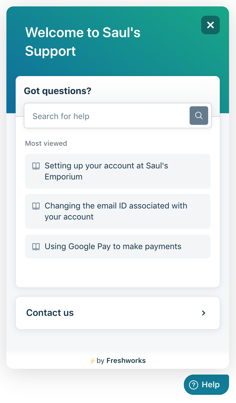 freshdesk-support screenshot 1