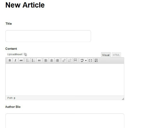 front-end-publishing screenshot 2