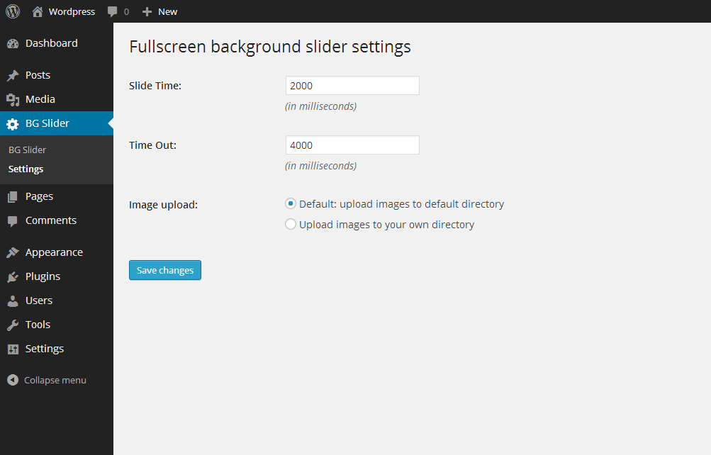 fullscreen-background-slider screenshot 2