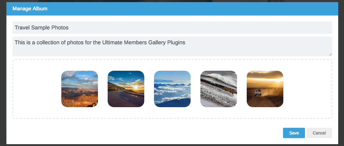 gallery-for-ultimate-member screenshot 3