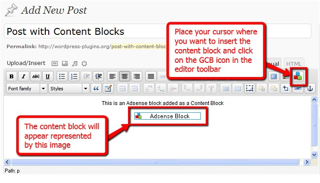 global-content-blocks screenshot 3