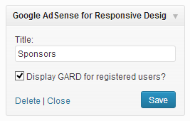 google-adsense-for-responsive-design-gard screenshot 3